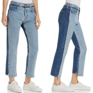 NWT Current/Elliott High Waist Somera Cavan Jeans